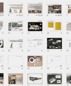 طراحی مجتمع تجاری فرهنگی به همراه نقشه ها