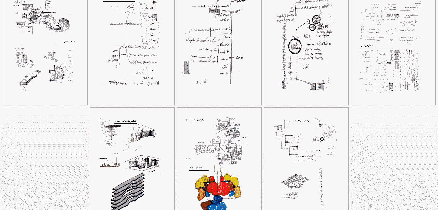 دیاگرام معماری خانه مد و فشن