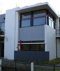 پلان اتوکدی خانه شرودر Schroder
