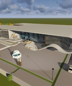 پایان نامه معماری خانه تئاتر