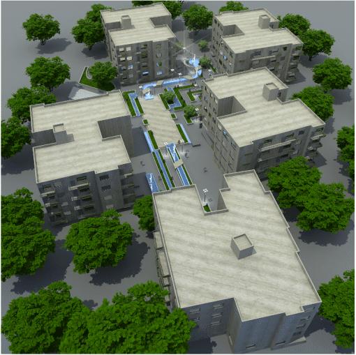پایان نامه معماری مجتمع مسکونی