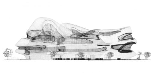 طراحی مرکز تحقیقات و فناوری