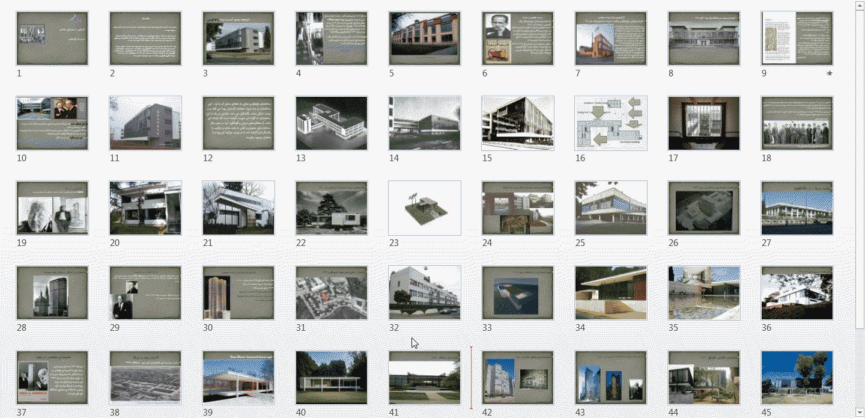 پاورپوینت آشنایی با معماری معاصرمدرسه باوهاس 1